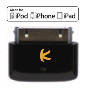 KOKKIA i10s black Tiny Bluetooth iPod Transmitter for iPod/iPhone/iPad