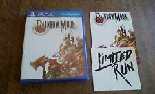 RAINBOW MOON - PS4 GAME + POSTCARD + STICKER - LIMITED RUN #16 - SEALED
