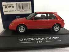 1/43 SAPI 1992 MAZDA FAMILIA [GTR] RED diecast model car US$9 CHEAP SHIPPING