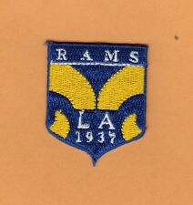 OLD LOS ANGELES L A RAMS SHIELD PATCH UNUSED STOCK IRON ON SHIRTS HAT BABY ITEMS