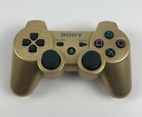 Sony PS3 PlayStation -CECHZC2U- Gold Dual Shock Sixaxis Wireless Controller
