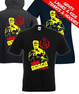 Ivan Drago Dolph Lundgren Rocky IV Retro Movie T Shirt / Hoodie