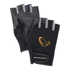 Savage Gear Neoprene Half Finger Glove M / L / XL Neopren Angler Handschuh