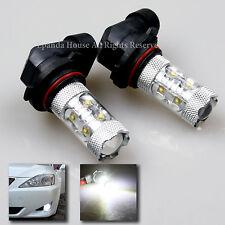 4pcs 60W 6000LM 7000K 9005 9006 HB3 HB4 Cree LED 144SMD Fog Headlight High Power