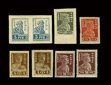 Russia. Solder - Worker - Peasant. 1923. Scott 238a-241c. Imperf.  MNH OG(?)