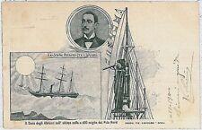 POLAR ARCTIC : ITALY -  VINTAGE POSTCARD : Prince Luigi Amedeo 1900