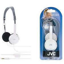 JVC HA-L50W Wired On-Ear Headphones - White