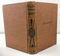 1934 Hoyle's Games Autograph Edition Blue Ribbon Books Vintage