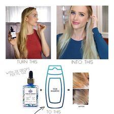 Kiss My Brass additive ( Purple Shampoo Concentrate)  blonde - Highlights Brassy