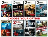 2 FILM COLLECTION - Many Options to Choose From - with Fast Free Shipping US