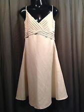 CALVIN KLEIN Beige Sun DRESS  Women's Size 8 NWOT