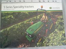 John Deere 5 Series Speciality Tractors 80 to 100hp brochure Oct 2009