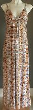 NWOT MOOLOOLA Abstract Print Multi Colour Maxi Dress Size 8