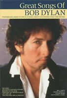 The Great Songs of Bob Dylan - Chord Songbook Paperback Book The Fast Free
