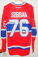 PK Subban NHL Montreal Canadiens #76 RBK Jersey Size 50