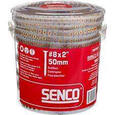 Senco 08f200y Duraspin By 2ampquot Subfloor Collated Screw 1 000per Box