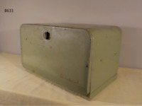 Vintage 1950's FUNKY GREEN Retro Bread Box