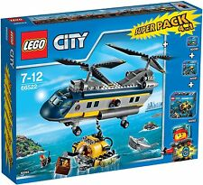 LEGO ® City 66522 deepseaexplorers SUPER PACK 4-in-1neu OVP 60090+60091+60092+60093