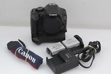 GOOD CANON EOS REBEL T2i 18MP BODY, BG-E8 BATTERY GRIP, 2BATTS, CHARGER, TESTED