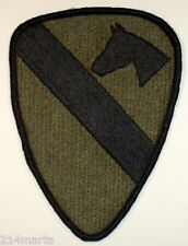 US Army First 1st Calvary Division Olive Drab Patch Insignia Fort Hood, Texas