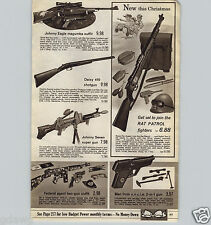 1967 PAPER AD Johnny Eagle Magumba Toy Gun Outfit Seven Super Man UNCLE Machine
