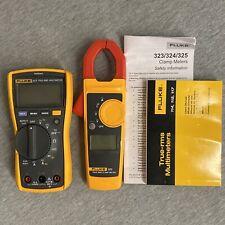 Fluke Fluke 117323 Kit 400ac600dc Multimeter And Clamp Meter Kit