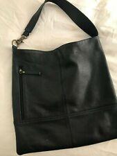Hobo International Black Leather Shoulder Bag