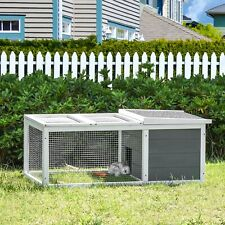 Rabbit Hutch Small Animal Cage Pet Run Cover Water Resistant Chinchilla Ferret
