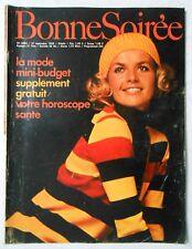 ►BONNE SOIREE 2484/1969 - MARIE LAFORET - MIREILLE DARC - ADAMO