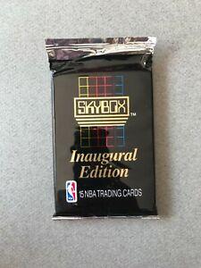 1 pack 1990-91 Skybox basketball cartes NBA Jordan