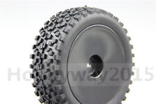 4pcs 1/10 Buggy Tires Dish Wheel Tire Set For 4WD Buggy Off Road 25026+27011