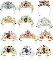 Disney Store Princess Tiara Costume Cinderella Jasmine Rapunzel Elsa Tinker Bell