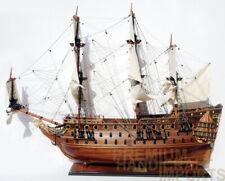 HMS Prince Display Wooden Ship Model