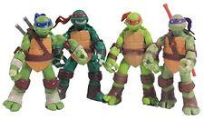 4 PCS/Set 5'' Teenage Mutant Ninja Turtles TMNT Battle Figures Classic Anime Toy