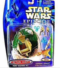 STAR WARS EPISODE 1 ACTION FLEET MINI SCENES #3(GUNGAN ASSAULT)-COLLECTOR'S ITEM