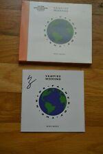 "VAMPIRE WEEKEND ~ Ezra Koenig  Autographed "" Father Of The Bride "" CD with COA"