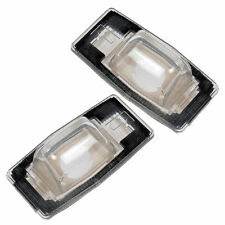 Pair License Light Lenses Fits 99-05 Miata 99-03 Protege 00-06 MPV 01-04 Tribute