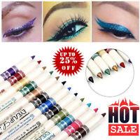 12 Pcs Professionnel Cosmétique Maquillage Eyeliner Eye / Lip Crayon Liner Gli