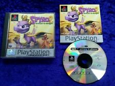 ps1 SPYRO 2 Gateway To Glimmer PLAT Boxed COMPLETE Game Playstation PAL ps2 ps3