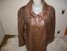 Womens's Metallic Jacket By N Touch Gold Light Weight  Button Front NWOTs Clothi