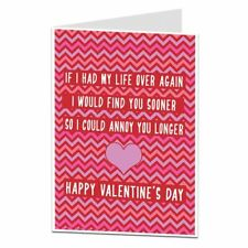 Valentine's Cards Funny Find You Sooner Joke Quirky Cool Alternative Design