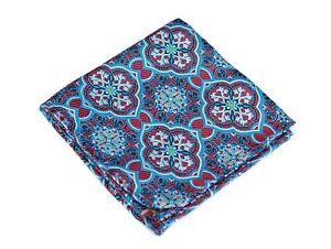 Lord R Colton Masterworks Pocket Square - Trujillo Magenta Silk - $75 Retail New