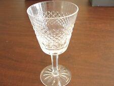 "WATERFORD CARA 4 WINE GLASSES W/ BOX 5 7/8"""