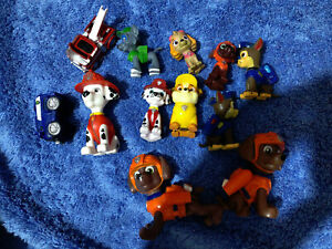 Paw Patrol Rescue figures and vehicles