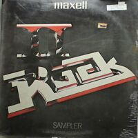 Rock Sealed Lp Various Artists Maxell Sampler On Maxell