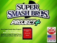 Super Smash Bros. Brawl Project+ Plus 2.15 Nintendo Wii