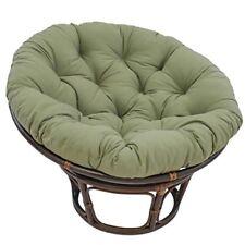 44-inch Solid Twill Papasan Cushion (Fits 42-inch Papasan Frame) Sage
