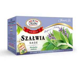 MALWA Salvia Sage Szalwia Tea 2x boxes 100% Sage High Quality
