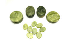 16 Pcs Hot Massage Stone Sets Heated Green Jade Warmer Kit for Spa-886834