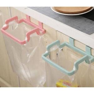 Portable Kitchen Trash Bag Holder Incognito Cabinets Cloth Rack Towel Rack T^BI